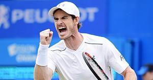 Murray, Queen's Club'da unvanını korudu