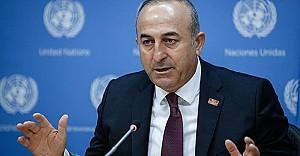 Bakan Çavuşoğlu'ndan ABD'ye sert cevap!