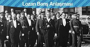 Lozan Barış Antlaşması'nın 93. yıl dönümü