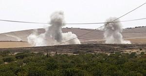 Türk uçakları Cerablus'da 'YPG'yi vurdu'