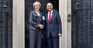 AP Başkanı Schulz, Londra'da