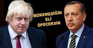 Erdoğan'a hakaret etti şimdi huzurunda