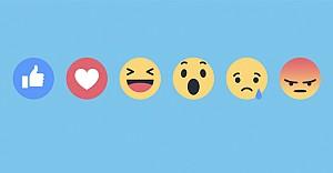 Facebook'un beğeni butonu değişti