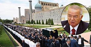 İslam Kerimov törenle toprağa verildi