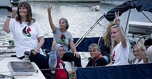 Kadınlar, Gazze ablukasını tekneyle delecek