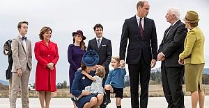 Prens George, Trudeau'ya pas vermedi