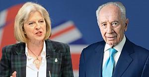 Theresa May'den, Peres için taziye mesajı