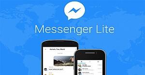 Android için Messenger Lite yayınlandı