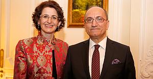 Büyükelçi Abdurrahman Bilgiç Cumhuriyet Resepsiyonu verdi