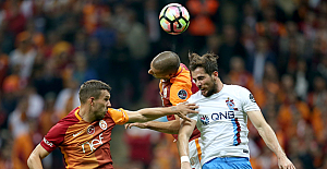 Galatasaray'a evinde Trabzonspor darbesi: 0-1