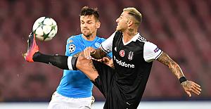 Napoli, Beşiktaş'ı çok iyi misafir etti: 2-3