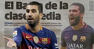 Terim'in çağırmadığı Arda İspanya basınında