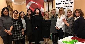 Britanya Türk Kadınları Derneği'nde yeni yönetim belirlendi