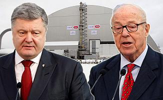 Çernobil Nükleer Santrali'ne çelik örtü