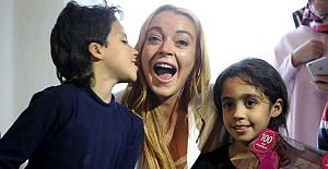 Lindsay Lohan'dan Trump'a, 'Türkiye ve Suriye'ye benimle gelin' çağrısı