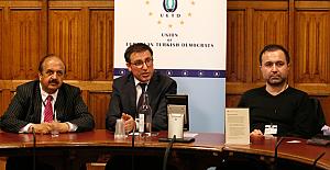 Prof. Küçükcan, İngiliz Parlamentosu'nda 'Sığınmacı Krizi'ni anlattı