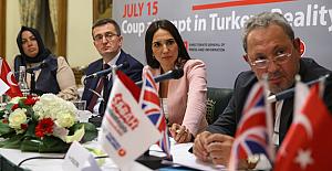 Sabah yazarları İngiliz Parlamentosu'nda '15 Temmuz'u anlattı