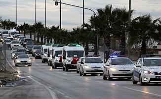 Adana'daki yangın faciasında hayatını kaybedenlere veda