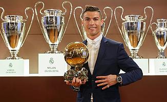'Altın Top' Ödülü Ronaldo'nun
