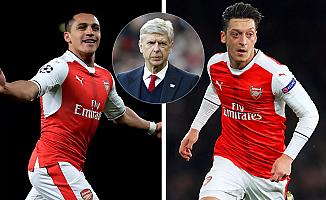Arsene Wenger, Sanchez ve Mesut için umutlu