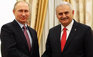 Başbakan Yıldırım, Putin ile görüştü