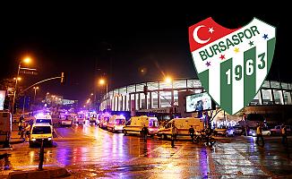 Bursaspor'dan patlama sonrası ilk açıklama