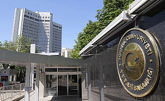 Dışişleri Bakanlığı'ndan Rusya Büyükelçisine Suikast açıklaması