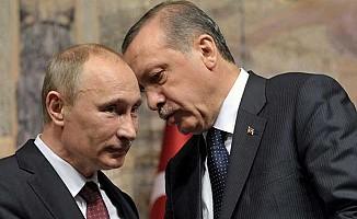 """İngiliz Times'tan """"Putin ve Erdoğan Suriye'yi paylaşıyor"""" haberi"""