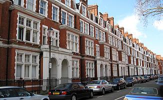 Londra'da ev fiyat artışı son üç yılın en düşük seviyesinde