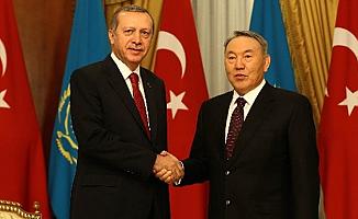 Nazarbayyev'den Erdoğan'a, 'Yanındayız' mesajı