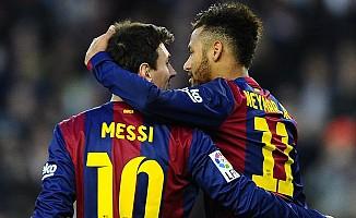 Neymar'dan Messi'ye övgü
