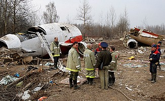 Rusya'dan Suriye'ye giden askeri uçak düştü...