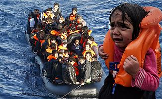 Akdeniz'de göçmen teknesi alabora oldu