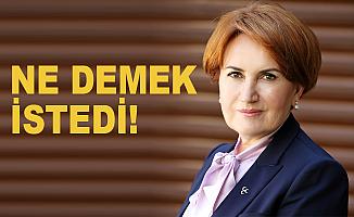 Akşener: Erdoğan'ı öldürmek mi istiyorsunuz!