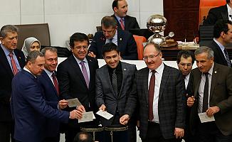 Anayasa değişikliği teklifi 338 oyla Genel Kurulda