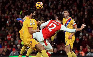 Arsenal, Crystal Palace'ı 2-0 yendi