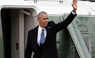 Barack Obama'dan Beyaz Saray'a son bakış