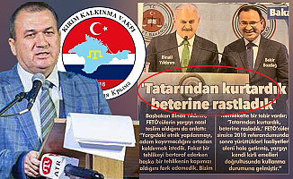 Başbakan Yıldırım'ın sözleri Kırım Tatarları'nı incitti!