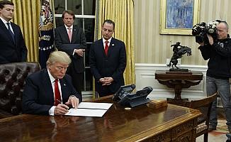 Başkan Trump'ın ilk icraatı: Obama'nın mirasını silmek