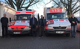 Suriye Türkmenlerine  Avrupa'dan ambulans desteği