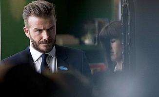 Beckham, oğlunu canlı yayında yakaladı ve...