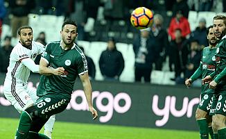 Beşiktaş, Atiker Konyaspor'un golünü de attı: 5-1