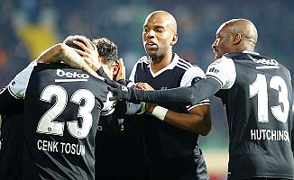Beşiktaş liderlik koltuğuna yerleşti