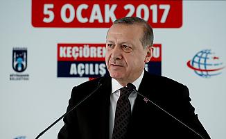 Erdoğan'dan teröre karşı kararlılık mesajı