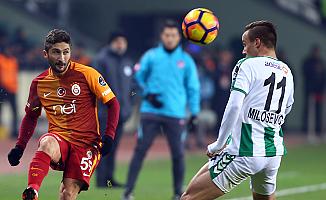 Galatasaray, Konya'dan moral yüklü dönüyor