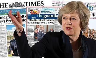 İngiliz basının gündeminde May'in Brexit planı var