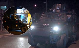 İstanbul'da gece yarısı terör zanlısı operasyonu