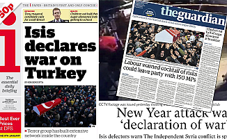 İstanbul'daki terör saldırısı İngiliz gazetelerinin manşetinde