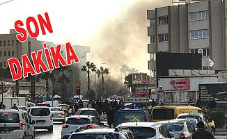İzmir adliyesi önünde patlama