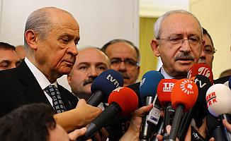 Kılıçdaroğlu, Bahçeli ile kaygılarını paylaştı